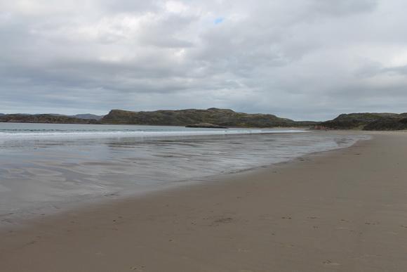 Песчаный пляж рядом с Териберкой