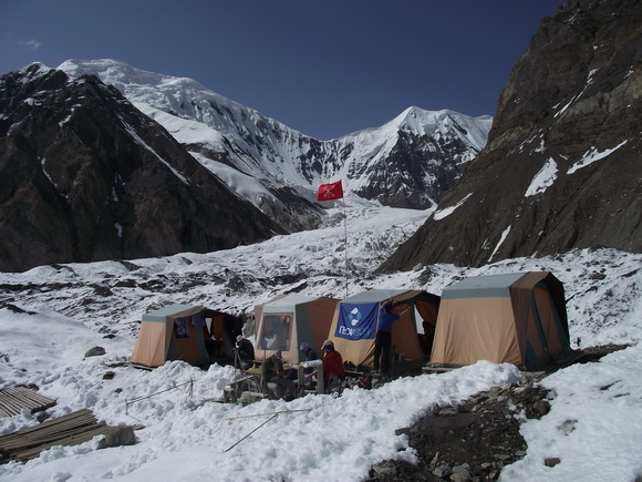 Базовый лагерь Хан-Тенгри