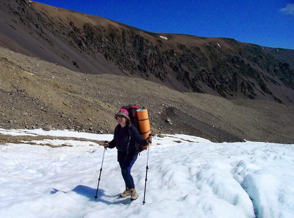 Асоло обувь - мои ботинки на леднике Монгун-Тайга