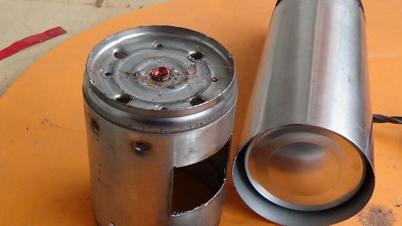 Детали термосного джетбойла