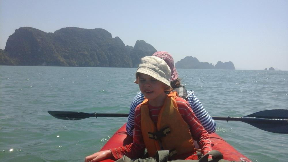 На байдарке по Тайланду
