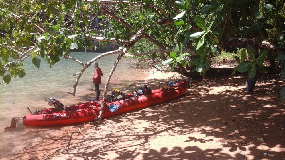 Что взять с собой в поход на байдарке по тропическому морю