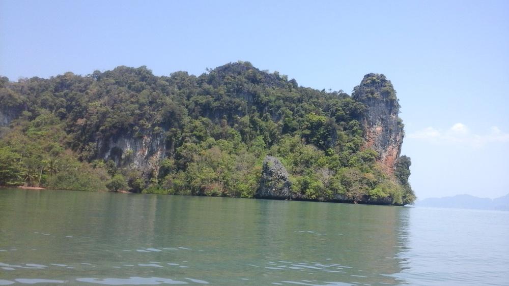 Северная оконечность острова Ко Яо Ной Таиланд