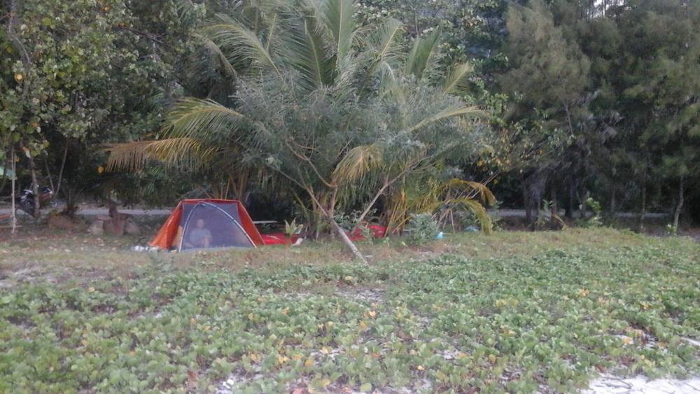 Наш лагерь на Ко Яо Ной