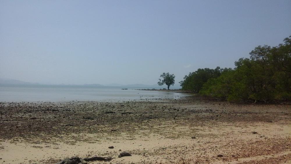Наша первая стоянка в национальном парке пханг нга
