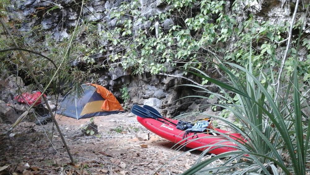Утро дня байдарочного перехода на остров Пхи Пхи