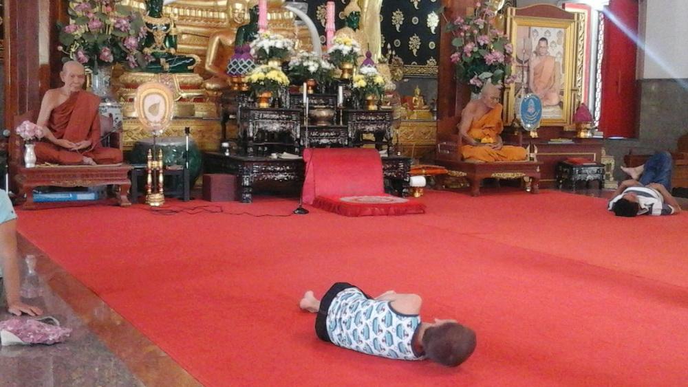 Пхукет Таун Буддийский храм