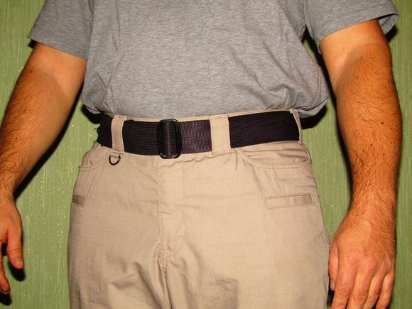 Ремень с карманом на молнии - ремень контабандиста