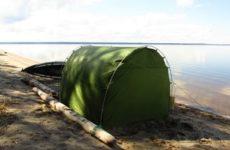 Походная баня своими руками: парилка, тент, палатка